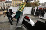 Polska: Sprawozdanie z akcji bezpośrednich anarchistów podczas Czarnego Poniedziałku.