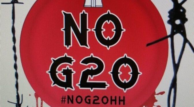 Wezwanie do anarchistycznej akcji przeciw G-20 w Hamburgu