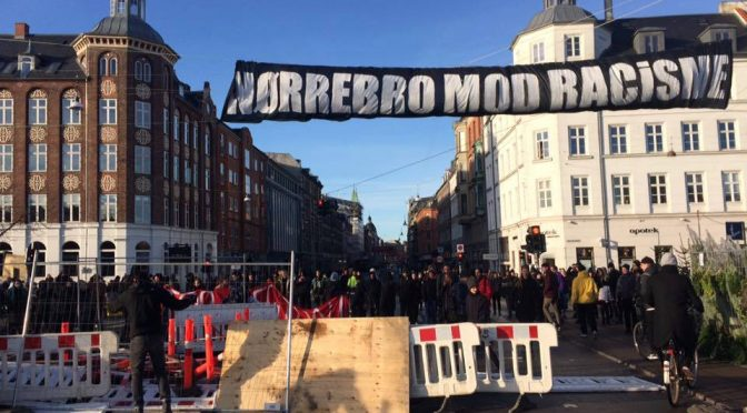 Kopenhaga: Relacja z blokady marszu Pegidy