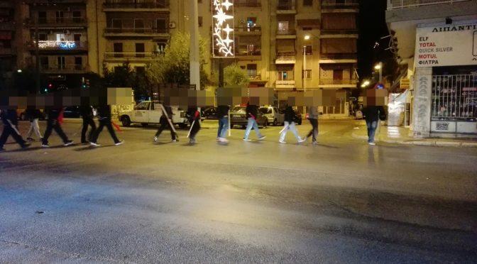 Grecja: Patrol antyfaszystowski w centrum Aten