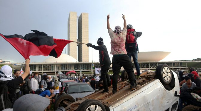 Brazylia, Porto Alegre: Protesty przeciwko PEC241/55