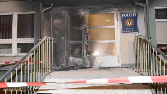 Berlin: Atak na komisariat. Przeciwko Kongresowi Policyjnemu i szczytowi G-20