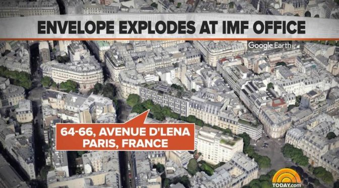 Francja: Wybuch listu-pułapki w siedzibie MFW. Zraniona pracownica