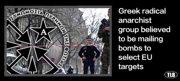 Anarchistyczna ofensywa? Policja zneutralizowała 8 wybuchowych paczek wysłanych z Grecji