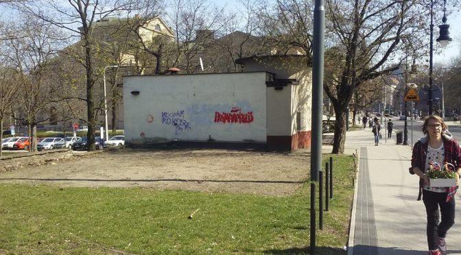 Poznań: Mural z okazji Prima aprilis