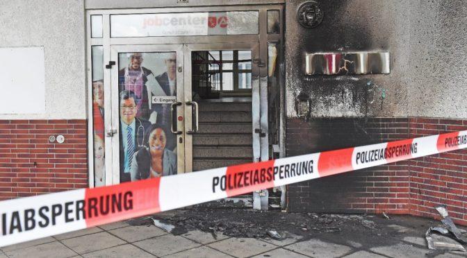 Niemcy, Brema: podpalenie urzędu pracy