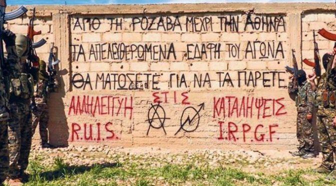 Anarchiści uczą się partyzantki u Kurdów. Greckie władze zaniepokojone.