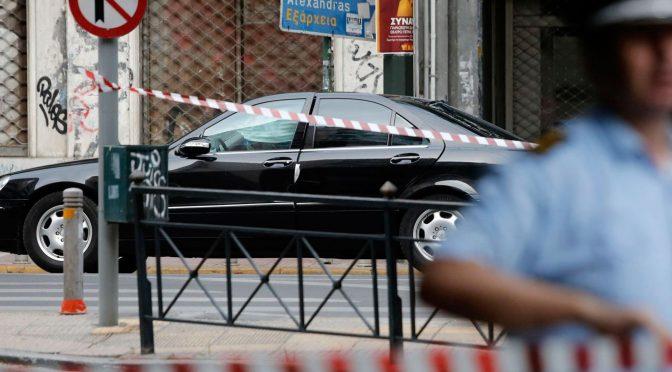 Grecja: Były bankier-premier Grecji ranny w wybuchu bomby