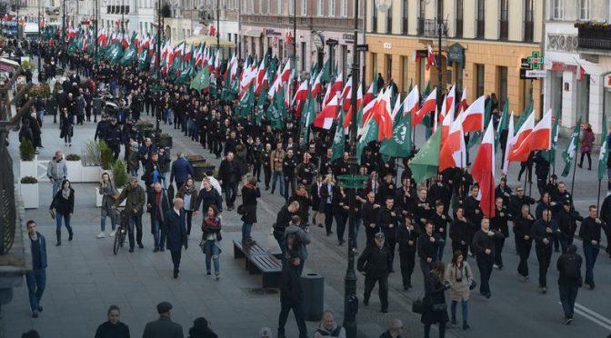Komentarz w sprawie przemarszu faszystów przez Warszawę