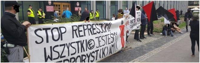 Warszawa: Relacja z 1 rozprawy warszawskiej Trójki