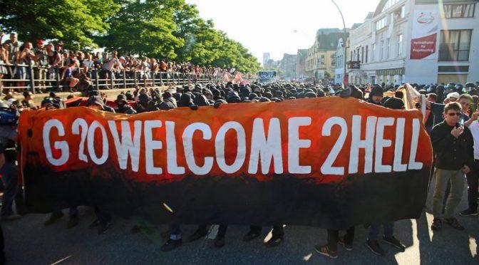 Niech żyje Czarny Blok! Wywiad z uczestnikiem protestów w Hamburgu.