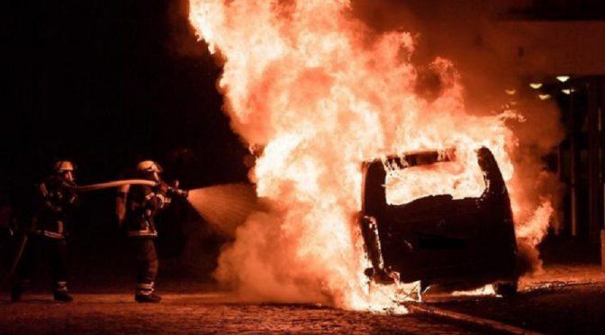 Hamburg, Niemcy: Komunikat odpowiedzialności za podpalenie auta dyplomaty podczas G20