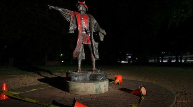 USA: Zniszczenie dziesiątek pomników konfederacji i Krzysztofa Kolumba