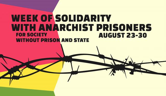 Grecja: Międzynarodowy tydzień solidarności z anarchistycznymi więźniami – komunikat Radiofragmata