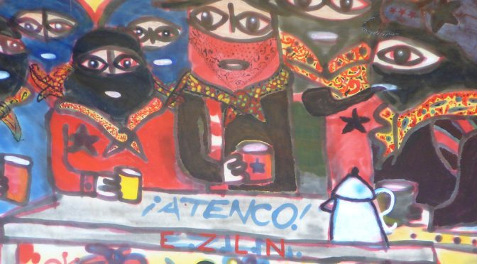 Meksyk: Protesty podczas pierwszej wizyty prezydenta Enrique Peña Nieto w Oaxaca (wideo)
