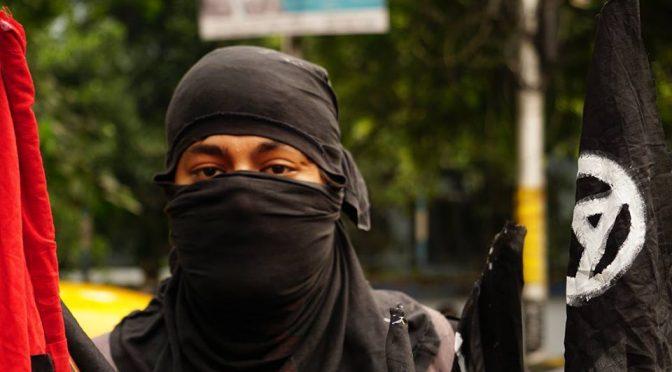 Kalkuta, Indie: Protest pod konsulatem Myanmaru przeciwko ludobójstwu ludu Rohingya