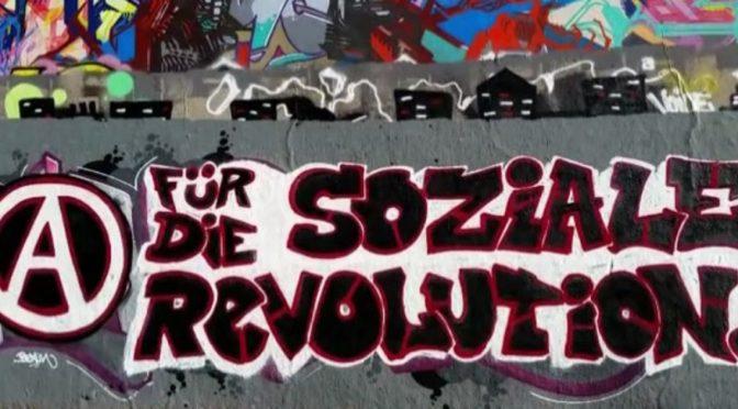 Niemcy: Graffiti przeciwko kapitałowi – wideo w solidarności z uwięzionymi po G20