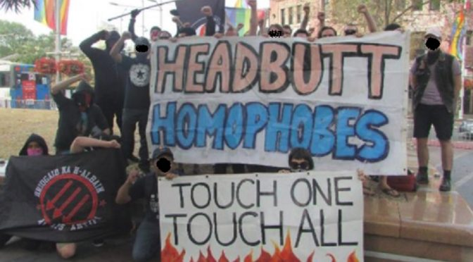 "Sydney, Australia: Relacja z kontrdemonstracji do ""Straight Lives Matter"""