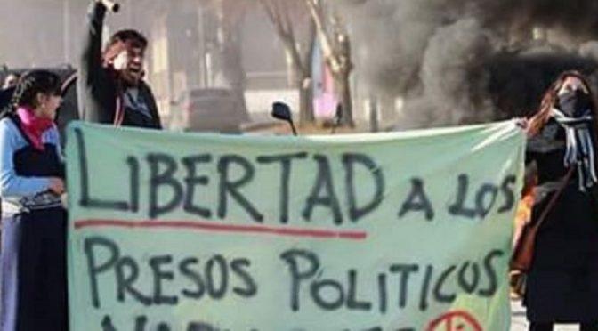 Chile: Wezwanie do międzynarodowej solidarności z więźniami politycznymi Mapuczy