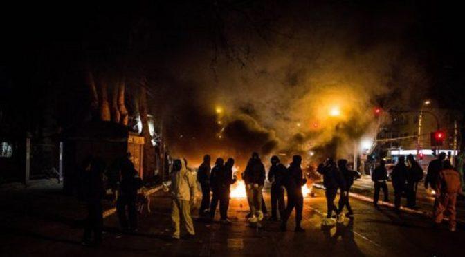 Santiago, Chile: Ogniste rozpoczęcie obchodów puczu z 1973