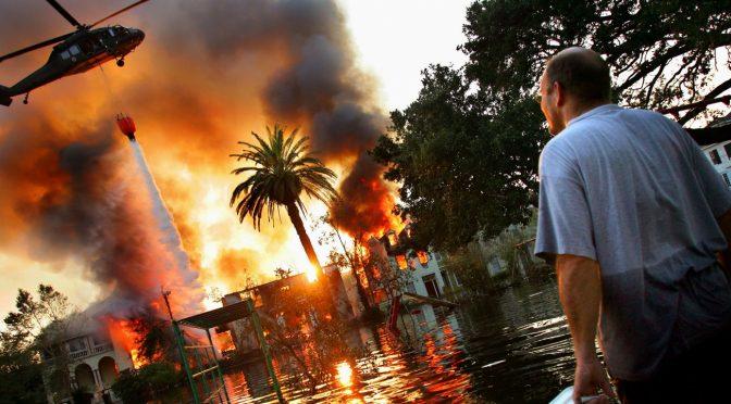 Witajcie w Piekle: Płonące drzewa, zatopione miasta (wideo)