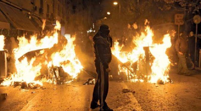 """Ateny, Grecja: """"Wyjdźcie na ulice pełne ognia"""" – Otwarte zgromadzenie przeciw policyjnej okupacji"""