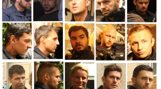 Berlin, Niemcy: Rigaer94 – Wezwanie do oporu oraz publikacja portretów gliniarzy odpowiedzialnych za represje