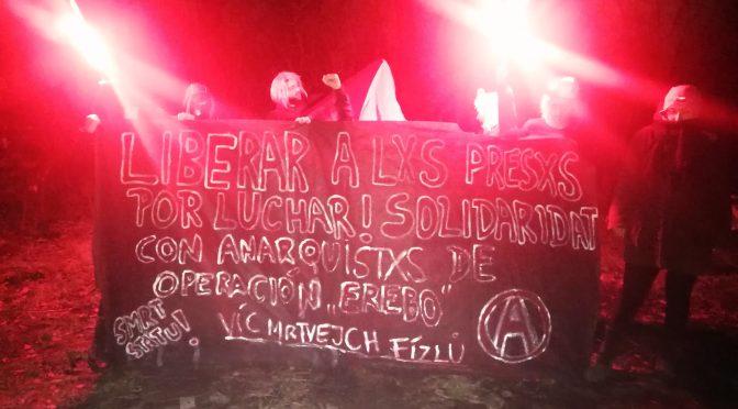 Czechy: Ponadnarodowa solidarność z represjonowanymi w związku z Operacją Erebo anarchistami w Brazylii