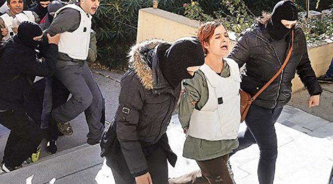 Ateny, Grecja: Dziewięcioro tureckich rewolucjonistów aresztowanych przez jednostki antyterrorystyczne (wideo)