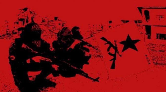 Syria: Komunikat od greckich towarzyszy i ochotników międzynarodowych z RUIS o wyzwoleniu Rakki (wideo)