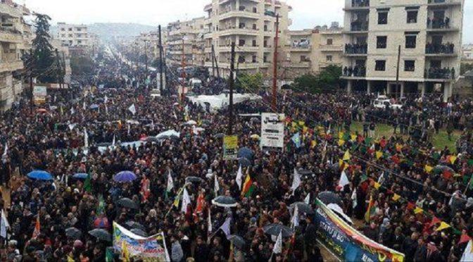 Łapy precz od Afrin!