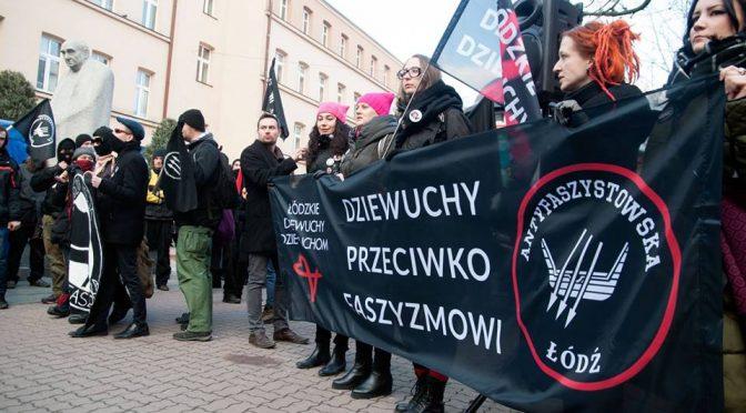 Łódź, Polska: Relacja z antyrasistowskiego dema (24.03.2018)