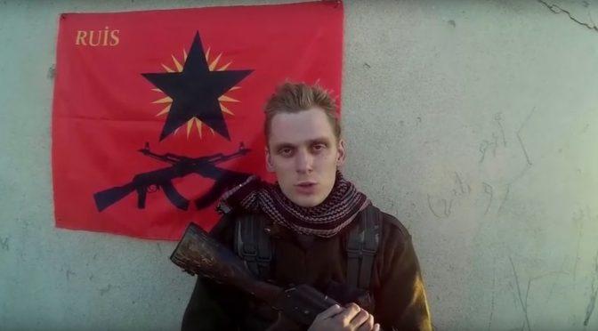 """Rożawa: Komunikat """"Rewolucyjnego Związku Solidarności Międzynarodowej"""" (RUIS) o Haukurze Hilmarssonie (wideo)"""