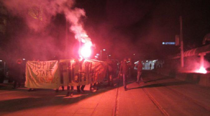 Wiedeń, Austria: Pełna gniewu spontaniczna demonstracja w Światowy Dzień Afrin