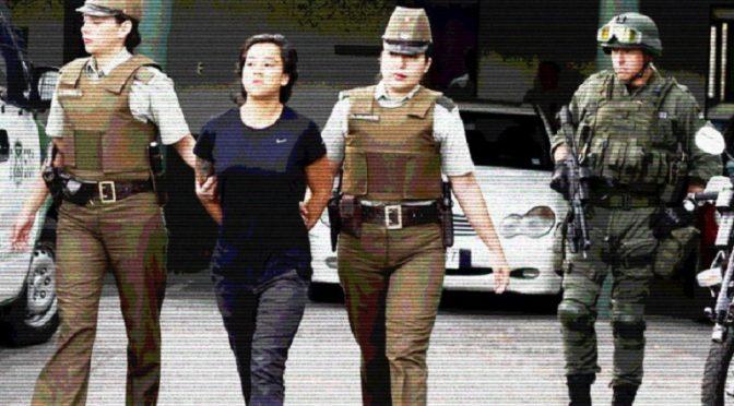 Chile: Tamara Sol Farías Vergara – Parę słów o naszej towarzyszce, jak została aresztowana, dlaczego i jak się toczy jej sprawa (wideo)