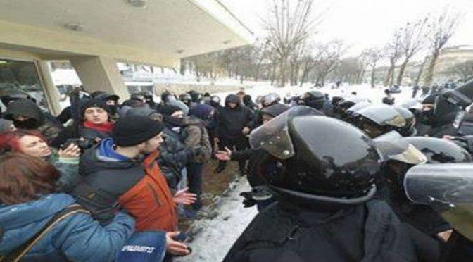 Ukraina: Ataki nacjonalistów i policji na aktywistów Ekoplatformy