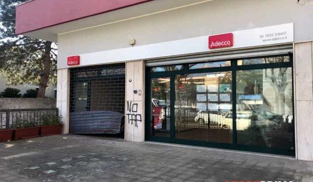 Lecce, Włochy: Atak na agencję pracy Adecco