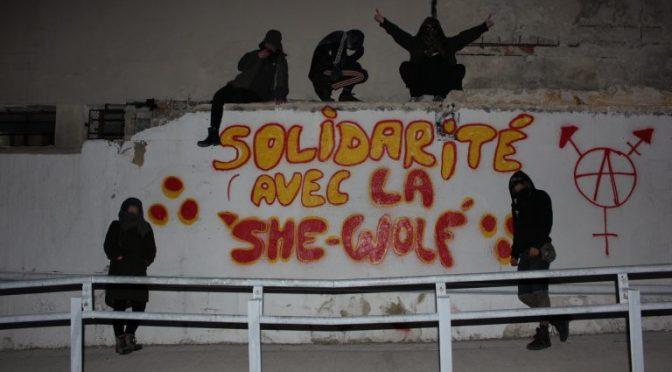 Z Francji do Londynu: Mały gest z Marsylii dla wszystkich walczących z represjami państwa i z TERF-ami