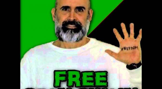 USA: Sean Swain rozpoczyna protest głodowy, zmaga się z represjami oraz prosi o wsparcie