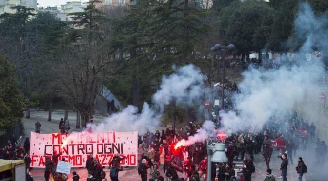 Włochy: My partyzantka. Przeciwstawiając się fali faszyzmu, wiosna 2018 (wideo)