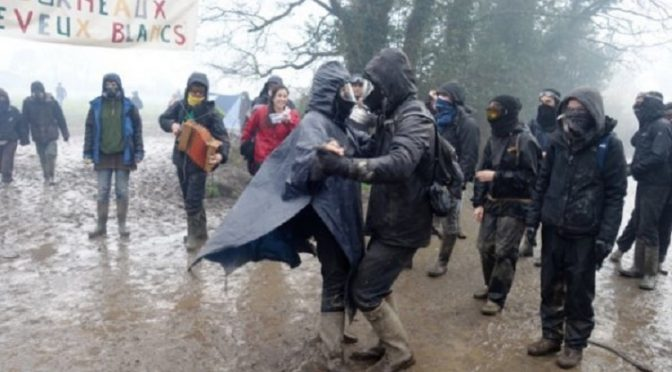 Francja: Mobilizacja przed drugą fazą ewikcji ZAD