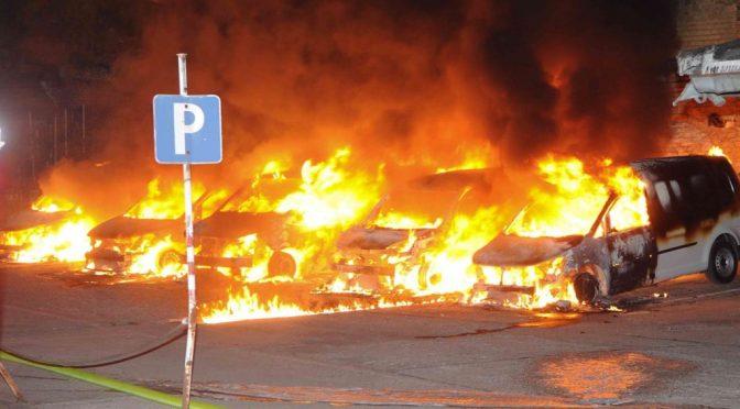 Berlin, Niemcy: Ataki przeciwko korporacjom współpracującym z wojskiem i policją (Telekom, Deutsche Bahn i Vodafone)