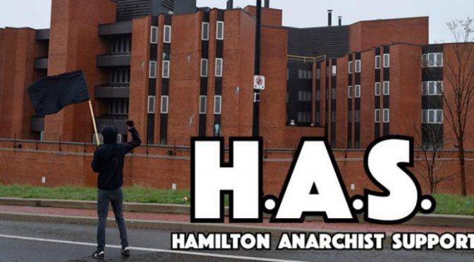 Kanada: Nowe aresztowania w Hamilton i w Montrealu, bieżące info i prośba wsparcia