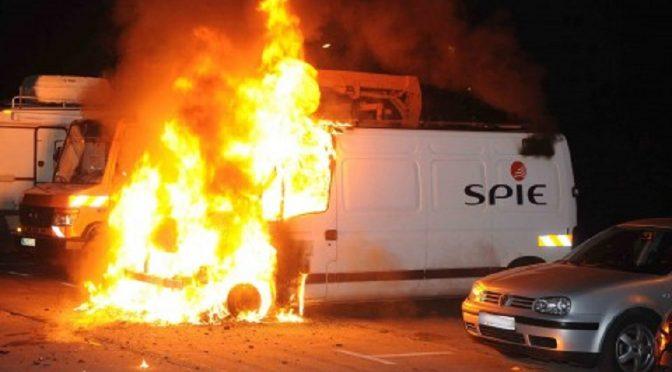 Berlin, Niemcy: Wybuchowa solidarność z uczestnikami zamieszek w Nantes