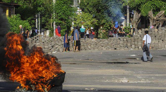 Różne kierunki insurekcji nikaraguańskiej. Spojrzenie wewnątrz okupowanego uniwersytetu w Managui