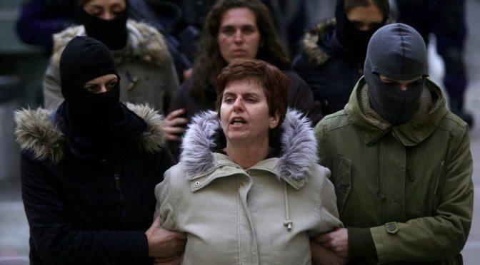 Ateny, Grecja: Dożywocie plus 25 lat więzienia dla Poli Roupy, członkini Walki Rewolucyjnej