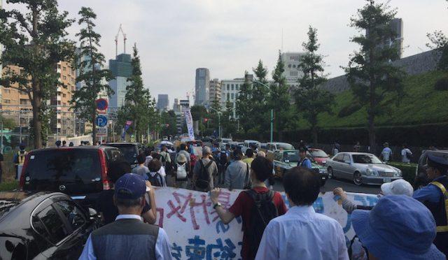Tokio, Japonia: Aktywiści protestują przeciwko Igrzyskom Olimpijskim w 2020 roku (wideo)