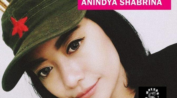 Indonezja: Solidarnie z aktywistką Anindyją Shabrin