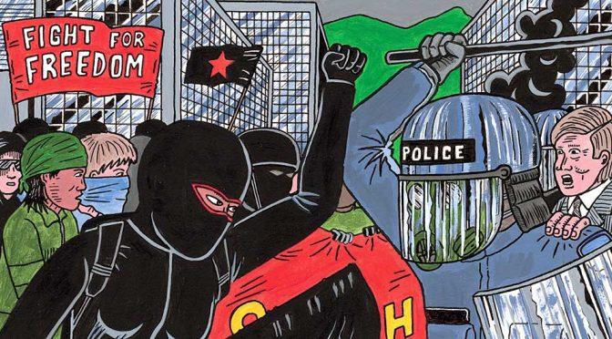 Anarchiści powinni postępować ostrożnie z rdzennym nacjonalizmem