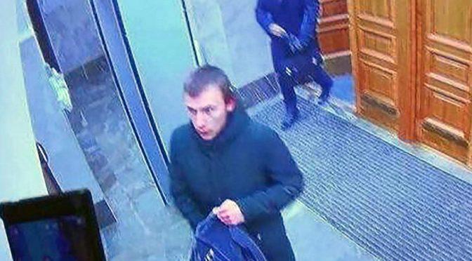 Archangielsk, Rosja: Anarchista Misza Złobicki detonuje ładunek na komisariacie FSB (wideo)